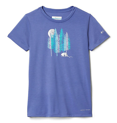 T-shirt Ranco Lake™ da bambina Ranco Lake™ Short Sleeve Tee | 466 | L, African Violet Grizzly Grounds, front