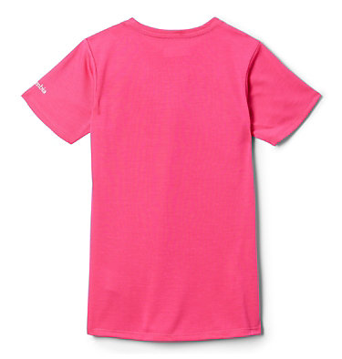 T-shirt Ranco Lake™ da bambina Ranco Lake™ Short Sleeve Tee | 466 | L, Cactus Pink Grizzly Grounds, back
