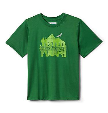 Boys' Bellator Basin™ T-Shirt Bellator Basin™ Short Sleeve Tee | 362 | L, True Green Forget The Box, front