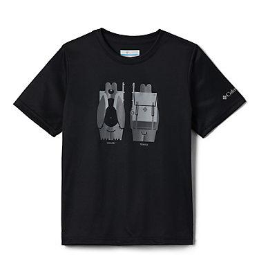 Boys' Little Trek™ T-Shirt Little Trek™ Short Sleeve Tee | 464 | XL, Black Heads N Trails, back