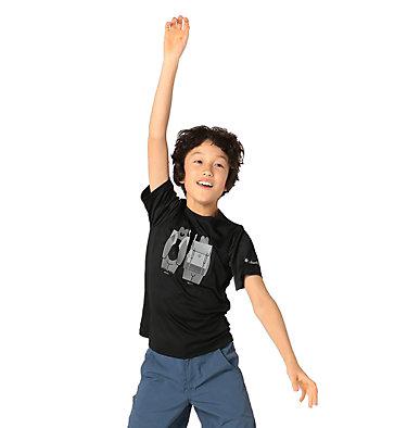 Boys' Little Trek™ T-Shirt Little Trek™ Short Sleeve Tee | 464 | XL, Black Heads N Trails, front