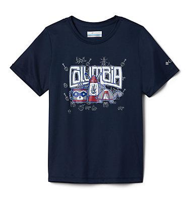 Boys' Little Trek™ T-Shirt Little Trek™ Short Sleeve Tee | 464 | XL, Collegiate Navy Inner Glow, back