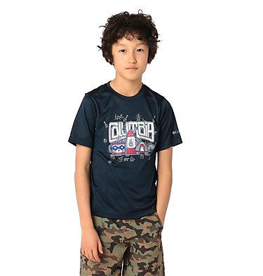 Boys' Little Trek™ T-Shirt Little Trek™ Short Sleeve Tee | 464 | XL, Collegiate Navy Inner Glow, front