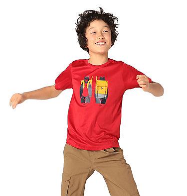 Boys' Little Trek™ T-Shirt Little Trek™ Short Sleeve Tee | 464 | XL, Mountain Red Heads N Trails, front