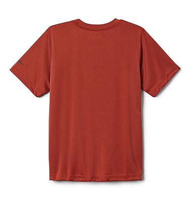 Boys' Little Trek™ T-Shirt Little Trek™ Short Sleeve Tee | 464 | XL, Carnelian Red Inner Glow, back