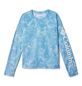 Kids' Solar Chill™ Printed Long Sleeve Shirt