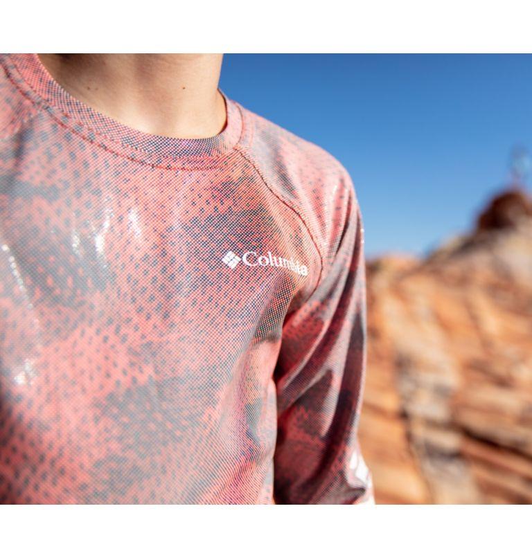 Kids' Solar Chill™ Printed Long Sleeve Shirt Kids' Solar Chill™ Printed Long Sleeve Shirt, a2