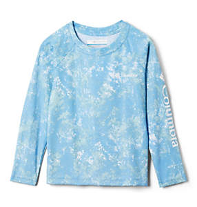 Toddler Solar Chill™ Printed Long Sleeve Shirt