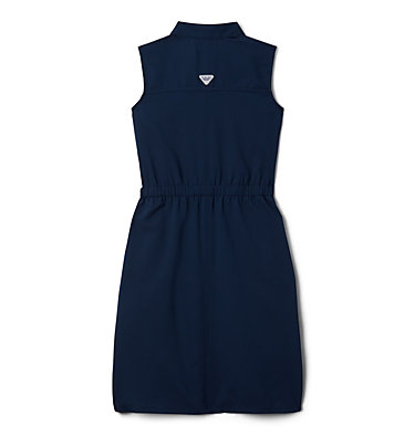 Robe sans manches PFG Tamiami™ pour fille Tamiami™ Sleeveless Dress | 464 | L, Collegiate Navy, back