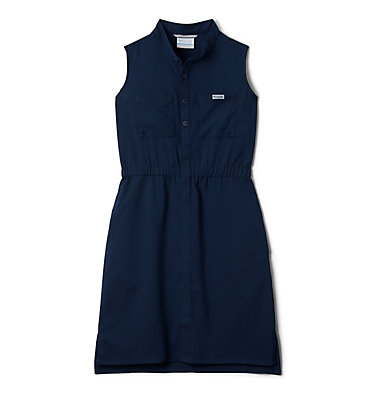 Girls' PFG Tamiami™ Sleeveless Dress Tamiami™ Sleeveless Dress | 464 | M, Collegiate Navy, front