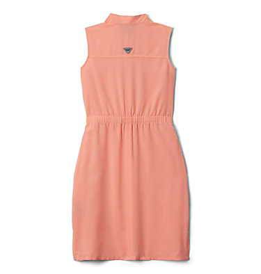 Girls' PFG Tamiami™ Sleeveless Dress Tamiami™ Sleeveless Dress | 464 | M, Tiki Pink, back
