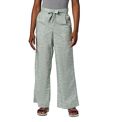 Women's Summer Chill™ Pants Summer Chill™ Pant | 648 | L, Light Lichen Wispy Bamboos, front
