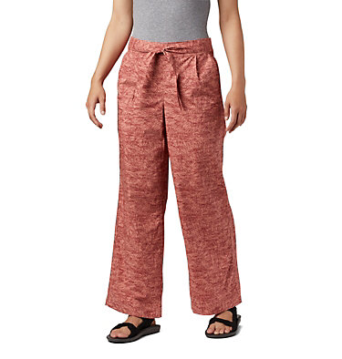 Women's Summer Chill™ Pants Summer Chill™ Pant | 648 | L, Cedar Blush Wispy Bamboos, front
