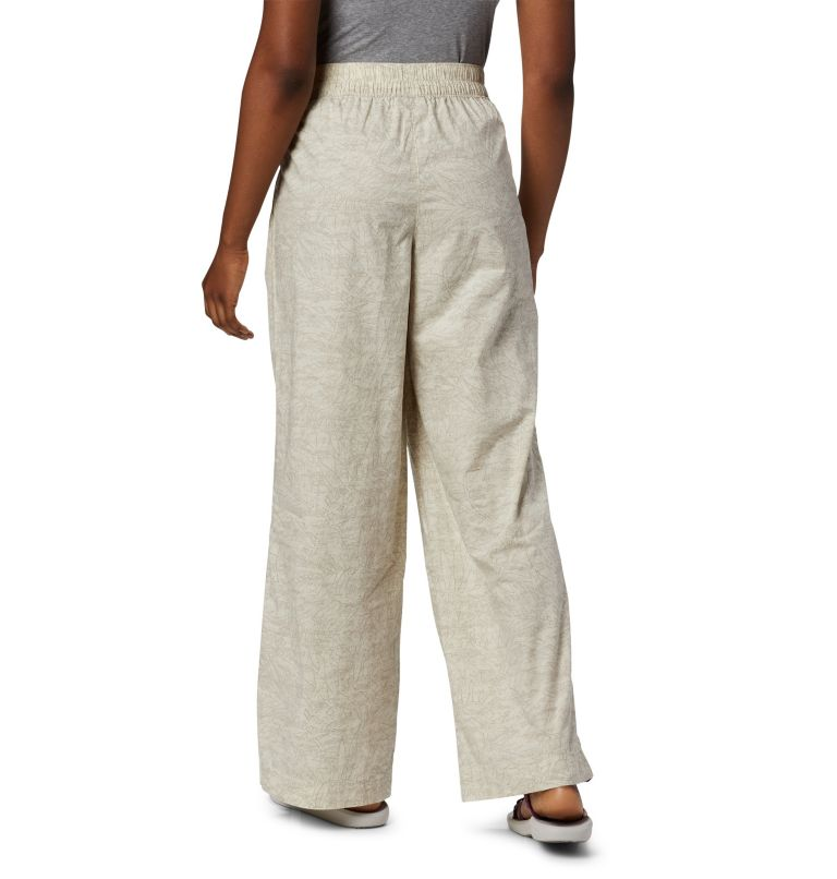 Summer Chill™ Pant | 022 | S Women's Summer Chill™ Trousers, Stone Wispy Bamboos, back