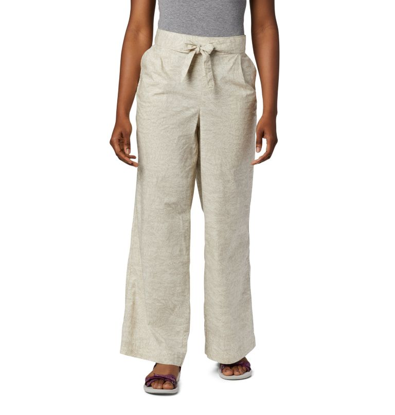 Summer Chill™ Pant | 022 | S Women's Summer Chill™ Trousers, Stone Wispy Bamboos, front