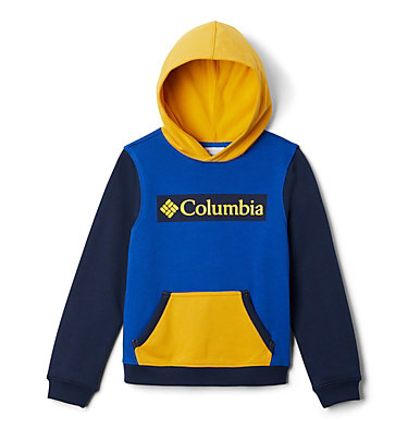 Boys' Columbia Park™ Hoodie Columbia Park™Hoodie | 010 | XS, Azul, Collegiate Navy, Bright Gold, back