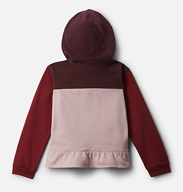 Girls' Columbia Park™ Hoodie Columbia Park™Hoodie | 618 | XXS, Mineral Pink, Marsala Red, Malbec, back