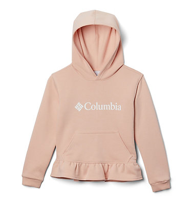 Chandail à capuchon Columbia Park pour fille Columbia Park™Hoodie | 618 | XXS, Peach Cloud, front