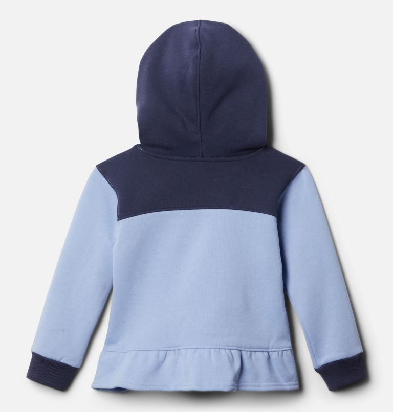 Columbia Park™ Hoodie | 539 | 2T Girls' Toddler Columbia Park™ Hoodie, Empress, Nocturnal, back