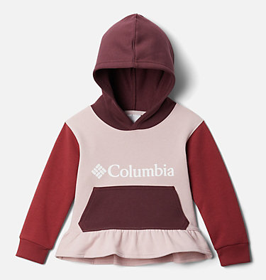 Girls' Toddler Columbia Park™ Hoodie Columbia Park™Hoodie   618   2T, Mineral Pink, Marsala Red, Malbec, front