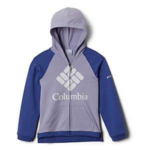 Girls' Columbia™ Branded French Terry Full Zip Hoodie