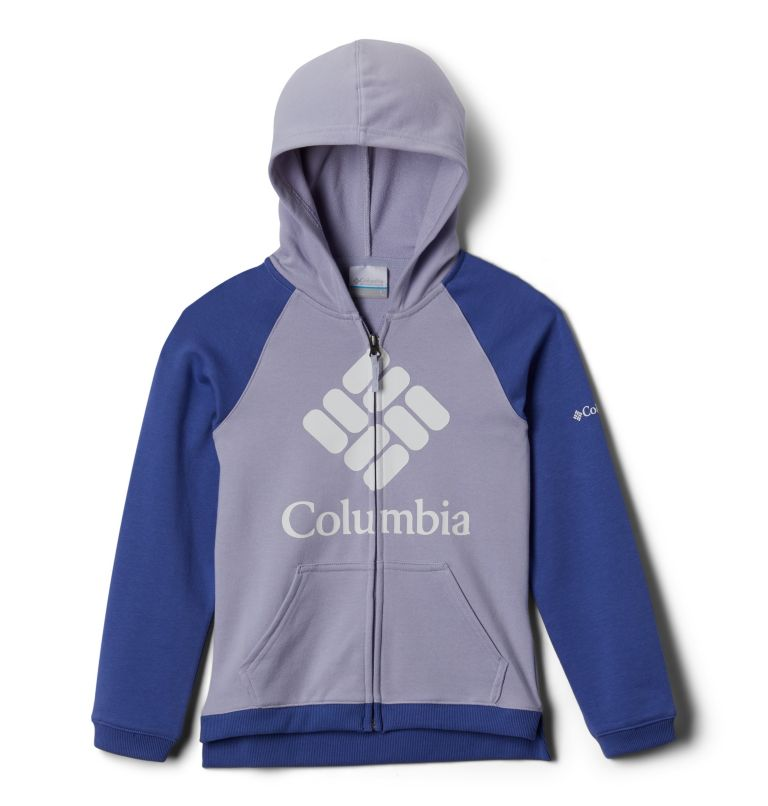 Girls' Columbia™ French Terry Full Zip Hoodie Girls' Columbia™ French Terry Full Zip Hoodie, front