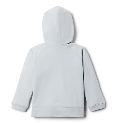 Girls' Toddler Columbia™ Branded French Terry Full Zip Hoodie Columbia™ BrandedFrench Terry Full Zip    639   2T, Cirrus Grey Heather, back