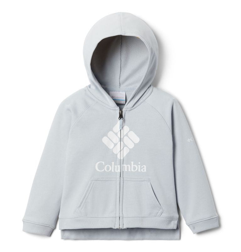 Girls' Toddler Columbia™ Branded French Terry Full Zip Hoodie Girls' Toddler Columbia™ Branded French Terry Full Zip Hoodie, front