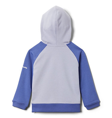 Girls' Toddler Columbia™ Branded French Terry Full Zip Hoodie Columbia™ BrandedFrench Terry Full Zip    639   2T, Twilight, African Violet, back
