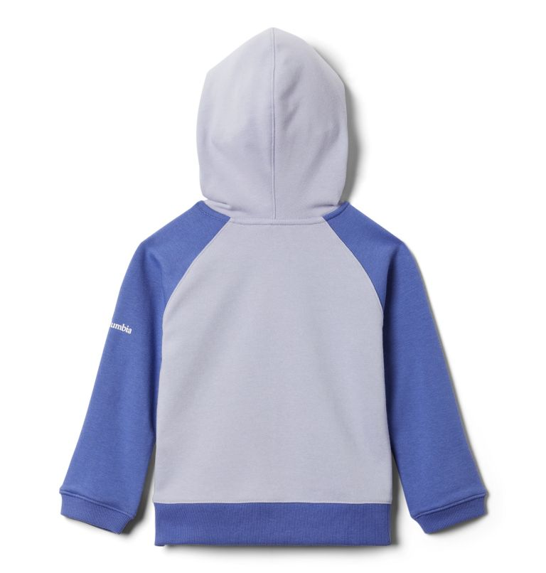Girls' Toddler Columbia™ Branded French Terry Full Zip Hoodie Girls' Toddler Columbia™ Branded French Terry Full Zip Hoodie, back