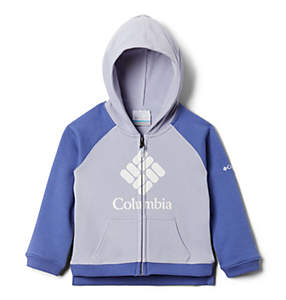 Girls' Toddler Columbia™ Branded French Terry Full Zip Hoodie