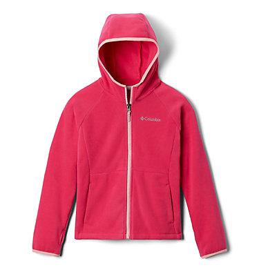 Kids' Fast Trek™ II Full-Zip Fleece Hoodie Fast Trek™ II Fleece Hoodie | 466 | M, Cactus Pink, front