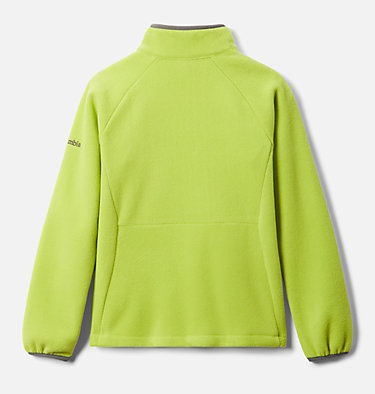 Youth Fast Trek™ III Fleece Full Zip Fast Trek™ III Fleece Full Zip | 386 | XS, Bright Chartreuse, City Grey, back