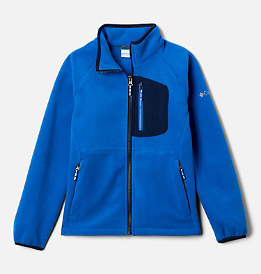 Polaire Fast Trek™ III Fille Fast Trek™ III Fleece Full Zip | 386 | XS, Bright Indigo, Collegiate Navy, front