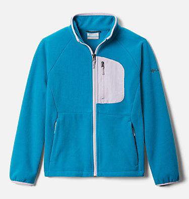 Girls' Fast Trek™ III Fleece Full Zip Fast Trek™ III Fleece Full Zip | 386 | XS, Fjord Blue, Pale Lilac, front