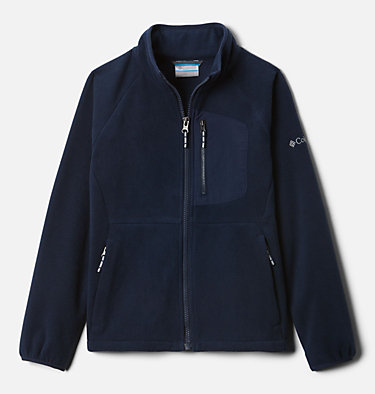 Youth Fast Trek™ III Fleece Full Zip Fast Trek™ III Fleece Full Zip | 327 | XS, Collegiate Navy, front
