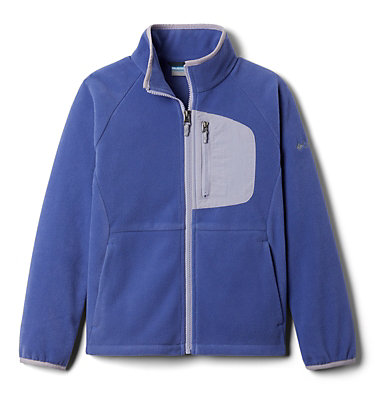 Youth Fast Trek™ III Fleece Full Zip Fast Trek™ III Fleece Full Zip | 386 | XS, African Violet, Twilight, front