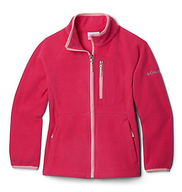 Youth Fast Trek™ III Fleece Full Zip Fast Trek™ III Fleece Full Zip | 386 | XS, Cactus Pink, Pink Orchid, front