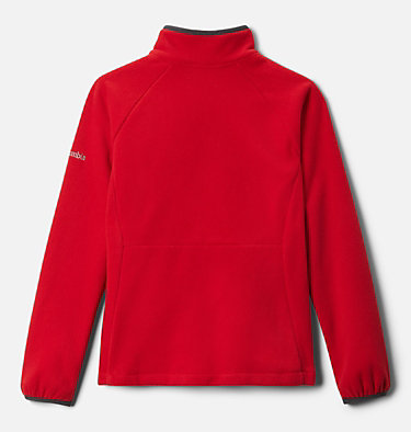 Polaire Fast Trek™ III Fille Fast Trek™ III Fleece Full Zip | 386 | XS, Mountain Red, Shark, back