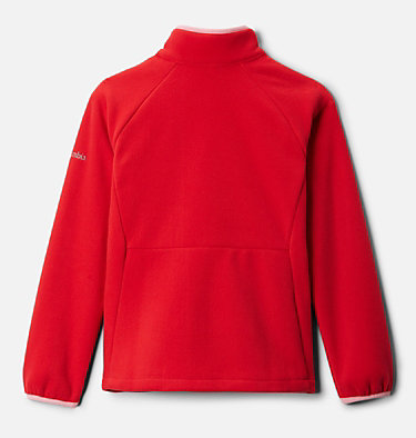 Polaire Fast Trek™ III Fille Fast Trek™ III Fleece Full Zip | 386 | XS, Red Lily, Pink Orchid, back