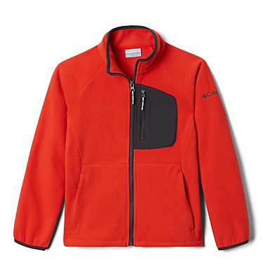 Polaire Fast Trek™ III Fille Fast Trek™ III Fleece Full Zip | 386 | XS, Wildfire, Shark, front