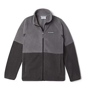 Kids' Basin Trail™ Branded Full Zip Fleece