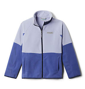 Kids' Basin Trail™ Branded Full Zip Fleece