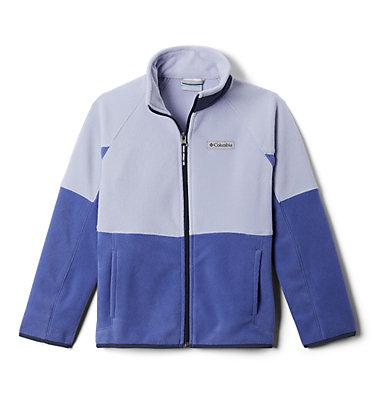 Kids' Basin Trail™ Branded Full Zip Fleece Basin Trail™Branded Full Zip Fleece | 542 | L, African Violet, Twilight, Nocturnal, front