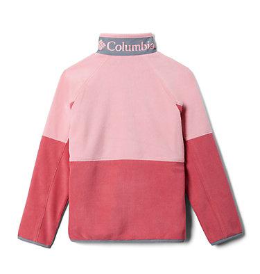 Kids' Basin Trail™ Branded Full Zip Fleece Basin Trail™Branded Full Zip Fleece | 542 | L, Rouge Pink, Pink Orchid, Grey Ash, back