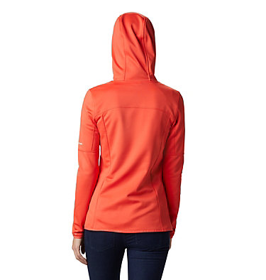 Windgates™ Full Zip Fleece für Damen Windgates™ Fleece Full Zip | 847 | L, Bright Poppy, back
