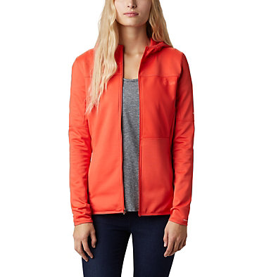 Windgates™ Full Zip Fleece für Damen Windgates™ Fleece Full Zip | 847 | L, Bright Poppy, front