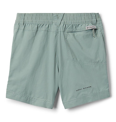 Girls' Silver Ridge™ IV Shorts Silver Ridge™IV Short | 466 | L, Light Lichen, back