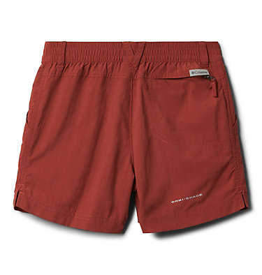Girls' Silver Ridge™ IV Shorts Silver Ridge™IV Short | 638 | L, Dusty Crimson, back