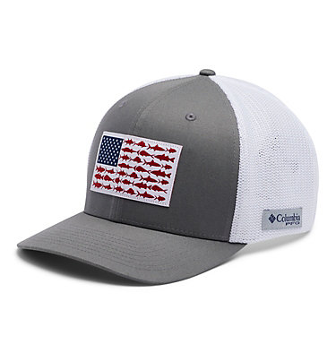 PFG Mesh™ Ball Cap XXL PFG Mesh™ Ball Cap XXL | 221 | O/S, Titanium, White, front